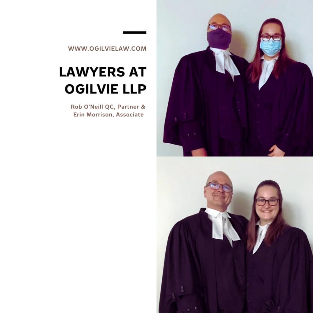 Rob O'Neill QC, Partner & Erin Morrison, Associate
